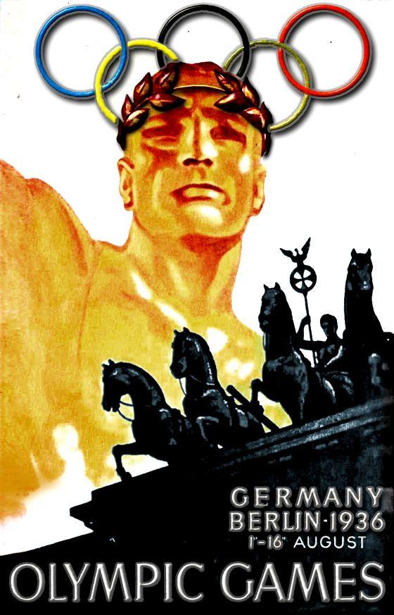 De Olympische Spelen van 1936 in Berlijn