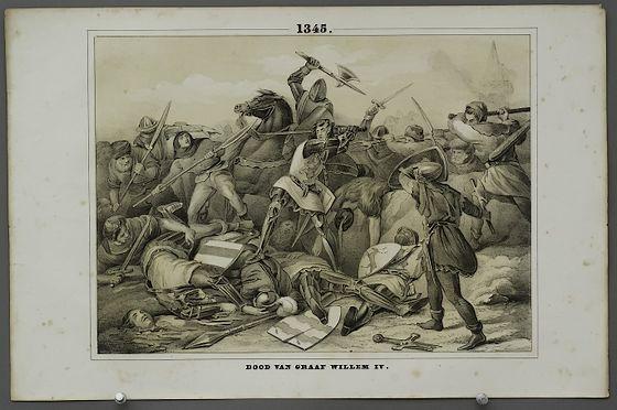 De Slag bij Warns (1345) – Symbool van de Friese vrijheidsstrijd