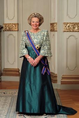 Staatsieportret van Beatrix als koningin