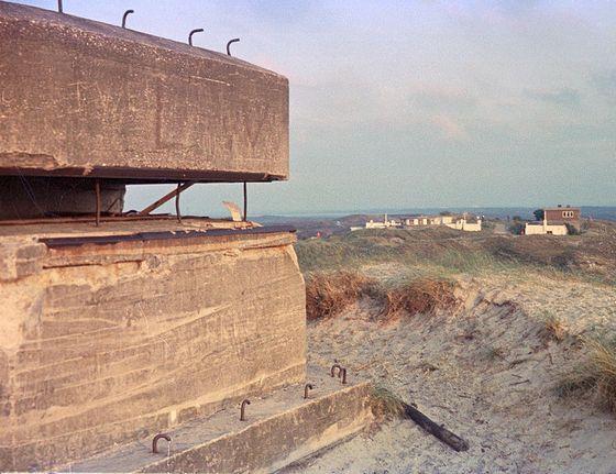 Duitse bunker in de duinen van Texel – Foto: CC/