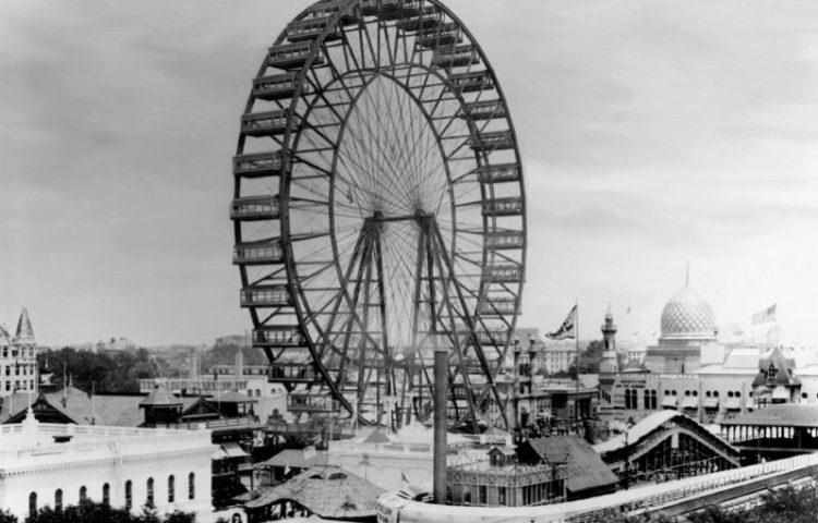 Het Ferris Wheel in 1893 (wiki)