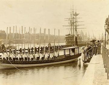 Koningssloep van het Scheepvaartmuseum