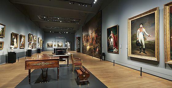 Zaal 19e eeuw in het Rijksmuseum