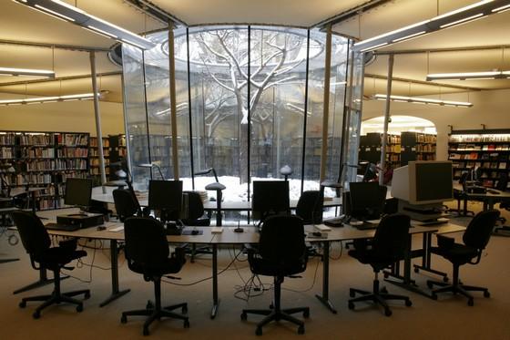 Studiezaal van het NIOD in Amsterdam - Foto: NIOD