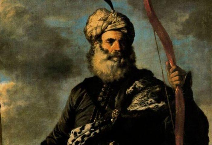 Een Barbarijse piraat. (Pier Francesco Mola, 1650)