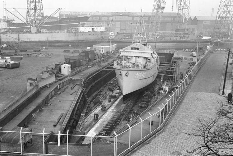 Het Dokje van Perry, nog in vol bedrijf (1964) - Foto: CC / RCE