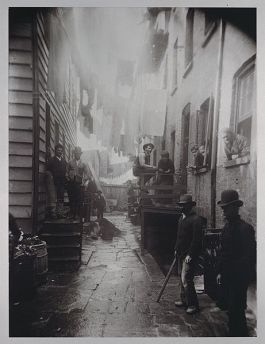 Bende in New York - Foto: Jacob Riis
