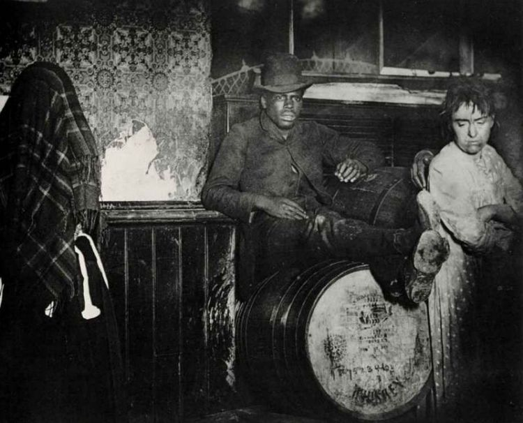 New York, ca. 1888 - Foto: Jacob Riis