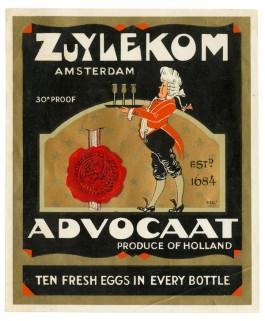 Likeurstokerij Van Zuylekom - Briefkaart, ca. 1950