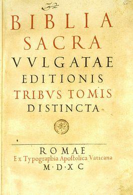 Vulgata Sixtina