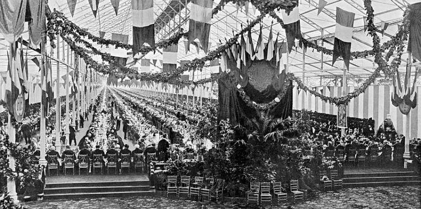 Banquet de Maires 1900 - Auteur onbekend (via frenchgourmethk)