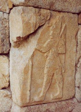 Reliëf van Suppiluliumas II, laatste koning der Hettieten - Foto: CC