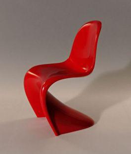 De S-stoel van de Deense ontwerper Verner Panton - Foto: CC/Holger.Ellgaard