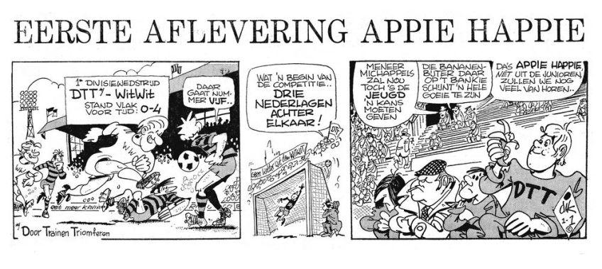Eerste aflevering van Appie Happie