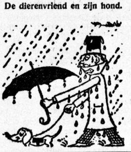 Tekening in de Graafschap-bode, 1933 (KB)