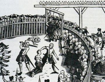 Executie van piraten in Hamburg, 10 september 1573