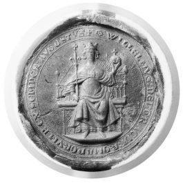 Zegel van Willem II als Roomskoning