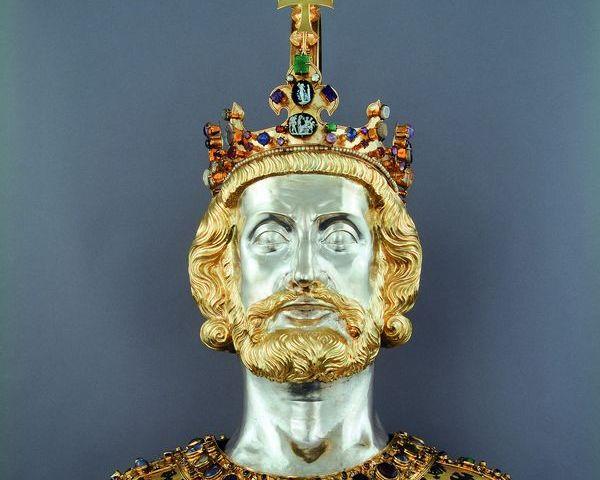 Buste van Karel de Grote (WBOOKS)
