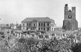 Maagdenburg werd tijdens de Tweede Wereldoorlog zwaar gebombardeerd - Foto: Allgemeiner Deutscher Nachrichtendienst