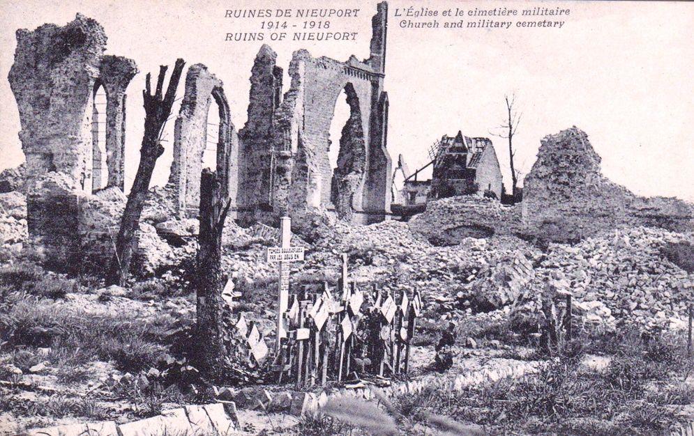 Ruïnes van Nieuwpoort