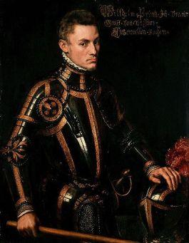 Willem van Oranje in 1554