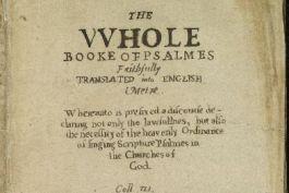 Bay Psalm Book