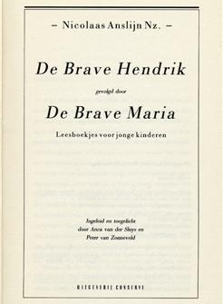 Brave Hendrik - Nicolaas Anslijn, 1810