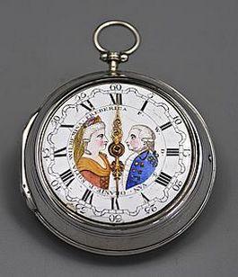 Achttiende-eeuws zilveren zakhorloge (Pan Amsterdam)