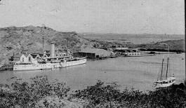 Pantserschip in Curacao