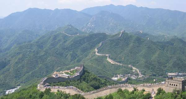 De Chinese Muur. Bron: cc/Samxli