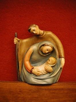 Jozef, Maria en Jezus - Foto: Wiki