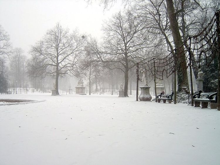 Warandepark in de winter van 2003 - Foto: CC