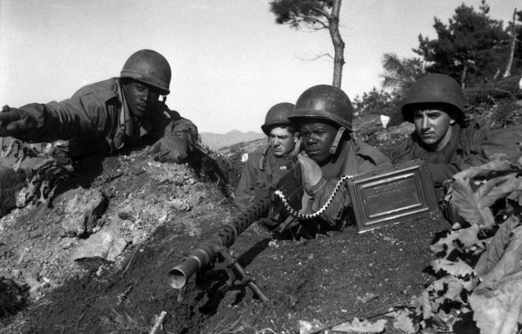 Amerikaanse soldaten tijdens de Koreaanse Oorlog