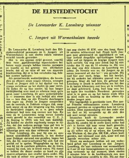 Elfstedentocht 1929