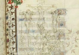 Afbeelding uit het manuscript van de Gebroeders van Limburg - Afb: Millon Brussel