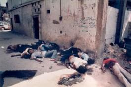 Slachtoffers van het bloed van Sabra en Shatila