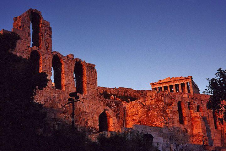 Akropolis van Athene - Foto: CC/Aaron Logan