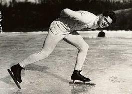 Charles Jewtraw won de eerste gouden medaille bij het schaatsen
