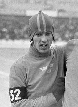 De Zweedse schaatser Jonny Nilsson (1967)