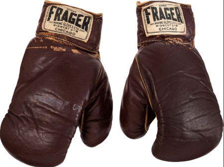 Handschoenen van Muhammed Ali