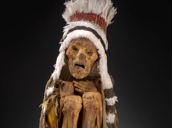 Mummie uit Peru (Drents Museum)