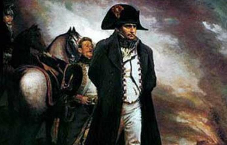 Napoleon in Waterloo