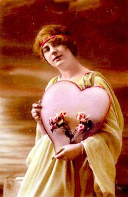 Valentijnskaart uit 1910