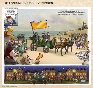 Het ontstaan van het koninkrijk als beeldverhaal (Meermanno)