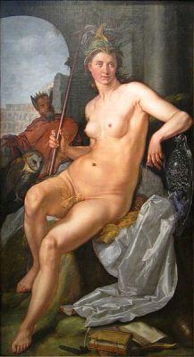 Minerva - Hendrick Goltzius