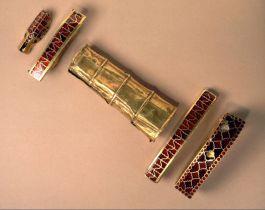 Greep van het zwaard van koning Childeric - Bibliothèque Nationale Parijs