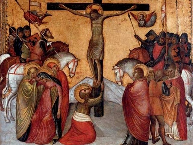 Kruisiging van Jezus - Jacobello Alberegno, 1375-97