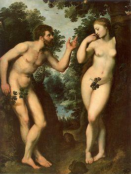 Adam en Eva volgens Peter Paul Rubens