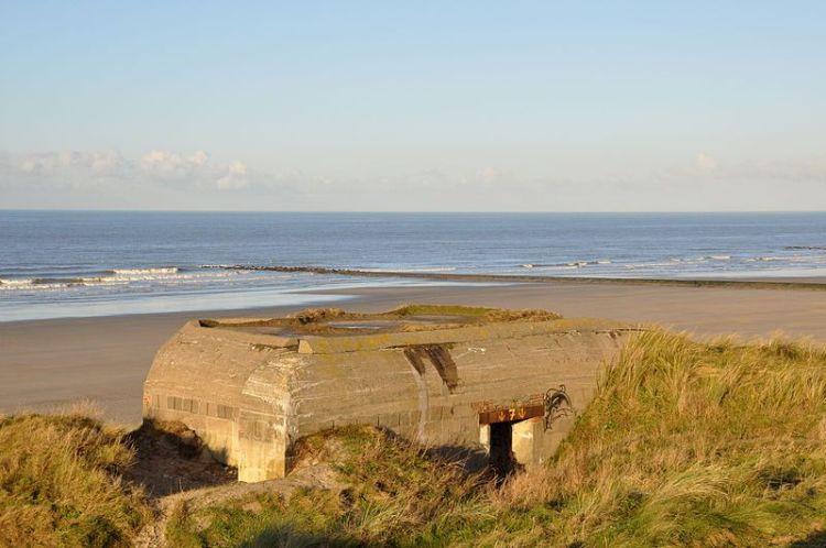 Bunker bij Oostende - cc