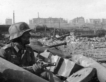 Duitse officier bij Stalingrad